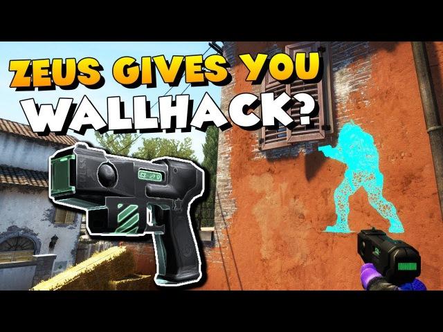 CS:GO - How the ZEUS gives you WALLHACK!