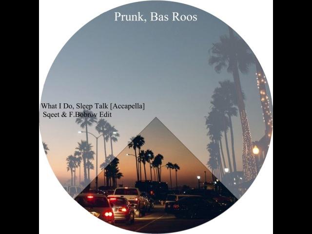 Prunk, Bas Roos - What I Do, Sleep Talk [Accapella] (Sqeet F.Bobrov Edit)
