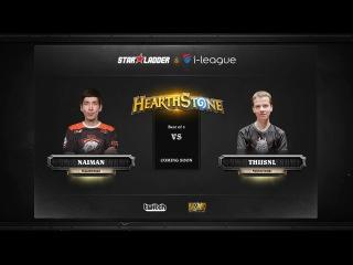 [RU] Naiman vs ThijsNL | SL i-League Hearthstone StarSeries Season 3 (14.05.2017)