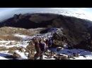 Гора Кения, пик Ленана (Mount Kenya, peak Lenana) спускаемся с пика