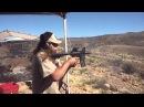 2 inch AR 15 Barrel Test Fire FA
