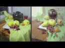 Still Life Painting in Gouache Paint