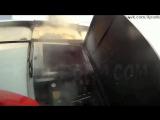 ЧП - Короткое замыкание взрыв и пожар на электроподстанции в Челябинская область вид от первого лица
