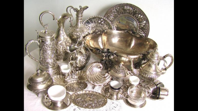 Как почистить ложки и вилки, серебряную ложку, столовые приборы столовое серебро