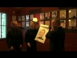 Richard and Cate unveiling their caricatures at Sardi's Restaurant 14.03.2017 (HD)