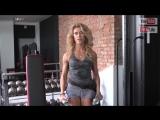 Тренировка женских плеч! Женственные плечи для Фитнес-бикини!