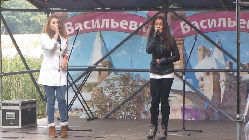 """ЭЛИЗАБЕТ и КРИСТИНА. """"АКВАБАЙК - 2013"""" Васильевка"""