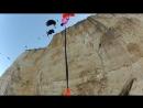 10 way base jump in Greece