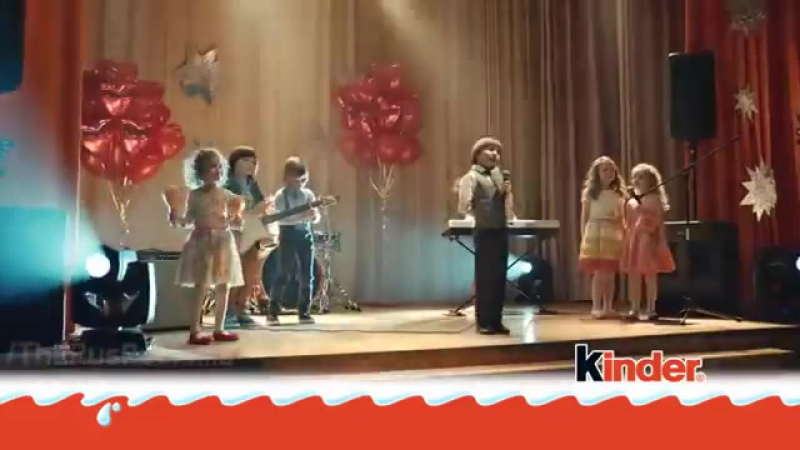 Музыка из рекламы Kinder - Королева красоты (Россия) (2015)