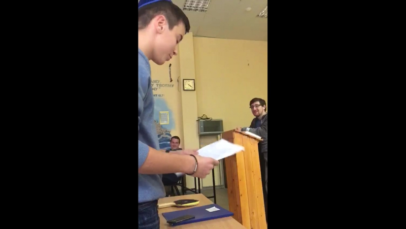 Речь прокурора на Небесном Суде