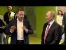 Владимир Путин побывал в московском офисе IT-компании «Яндекс».