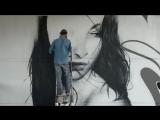 Красивый стрит-арт (6 sec)