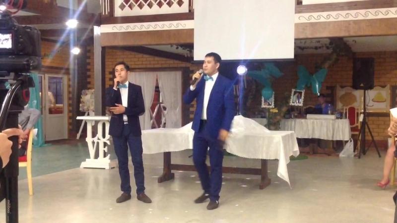 Ракаевы поют на свадьбе Абдульмановых