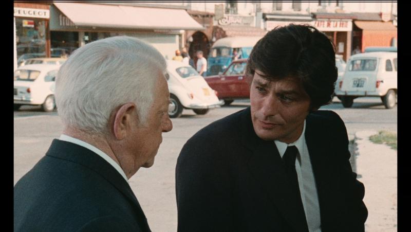 Двое в городе / Deux Hommes Dans La Ville 1973г. 1080р, Ален Делон, Жан Габен