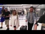 Марго и Том в аэропорту LAX    26.04.17