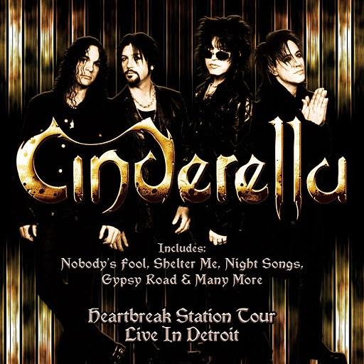 Cinderella альбом Live in Detroit