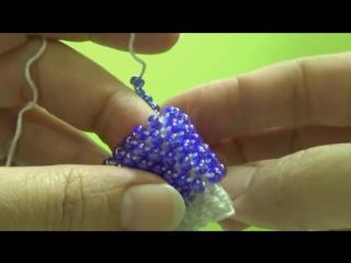 Видео мастер-класс: осваиваем вязание бисером. Урок 18. Петля подъема. Новый способ — ИДЕАЛЬНОЕ полотно