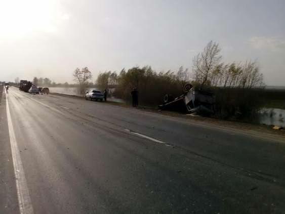 3 мая, в 15:50 в Кинельском районе Самарской области произошло ДТП с у