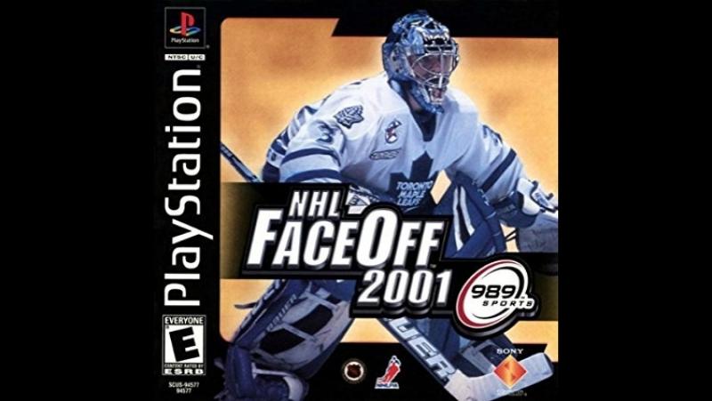 NHL FaceOff 2001.Финал. Колорадо-Филадельфия.Игра 1