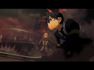 Sword Art Online The Movie    Мастера меча онлайн фильм фрагмент   озвучили: Алибек Машуков & Ruri