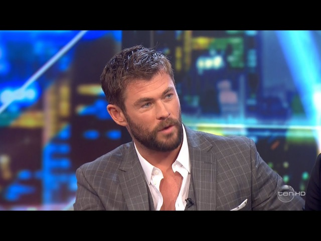 Chris Hemsworth and Mark Ruffalo Australian Interview - Secret Plot Twist Revealed? (2017)