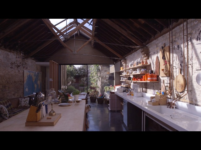 Movie explores Jonathan Tuckey's home in a 19th-century workshop 14 years on