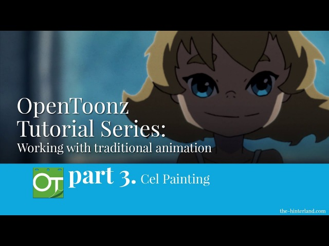 OpenToonz Traditional Animation Tutorial - Part 3: Cel Painting