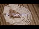 Tığ işi Zincir Boyunluk Örgü kolye yapımı