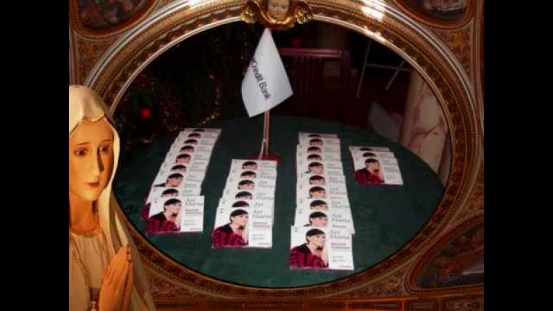 INESSA GALANTE Ave Maria C. Franck (II) - Promoting new CD in Riga Latvia (3) Pictures at the end