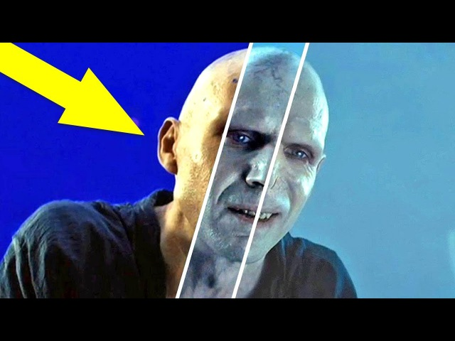 Фильмы о Гарри Поттере ДО и ПОСЛЕ спецэффектов