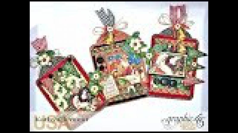 Simply G45 Saint Nicholas Holiday Tags Video Tutorial