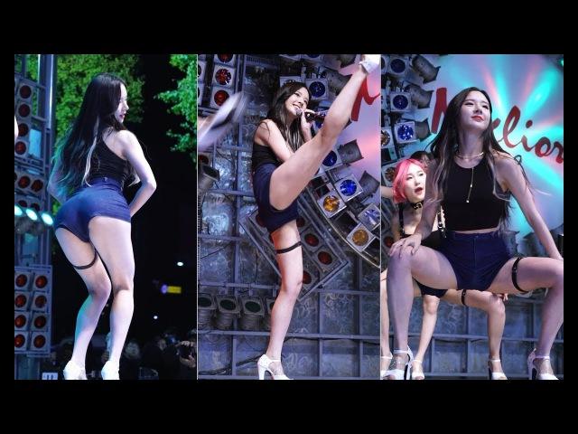 171022 포켓걸스(Pocket Girls) (하빈) - 신곡 쓸애기 [동대문 밀리오레 신·발 프로젝트]【직