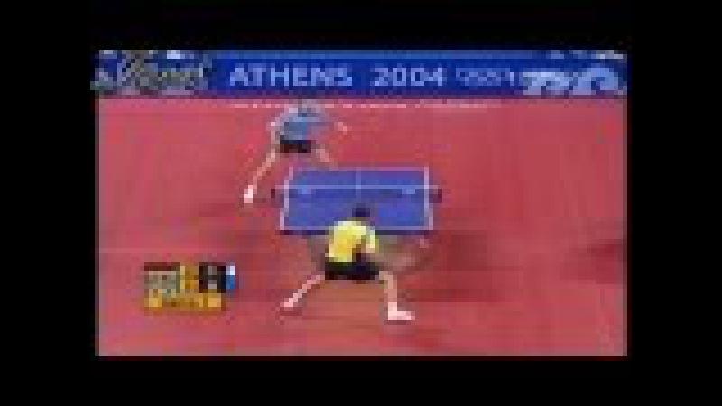 2004 Olympics (ms-qf) BOLL Timo - WALDNER Jan Ove [Full Match|Short Form]