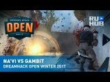 Highlights - Na`Vi vs Gambit @ DreamHack Open Winter 2017