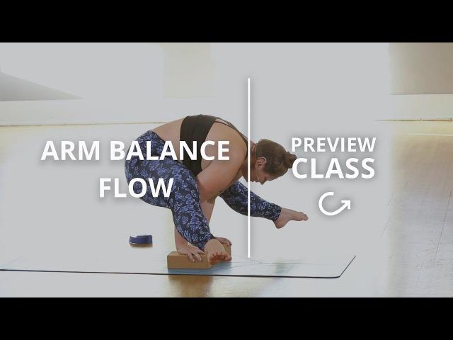 Intermediate Yoga Class with Dana Falsetti: Learn Arm Balances