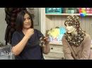 Alize Superlana Multicolor ile Bere Boyunluk Hat and Cowl with using Alize Superlana Multi Color