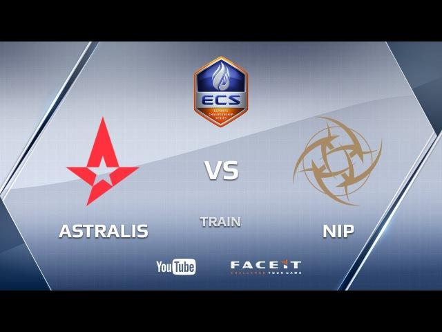 Astralis vs NiP, train, ECS Season 4 Europe