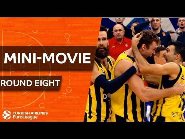 Turkish Airlines EuroLeague Regular Season Round 8: Mini-Movie