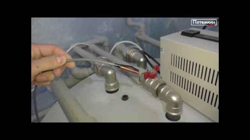 Монтаж отопления в коттедже 160 м. кв. в Воронеже (ч.1)