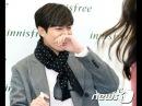 20170210 TopNews Are you shy Min Ho Innisfree fan sign in Seoul