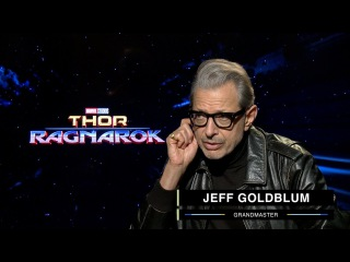 Jeff Goldblum on Marvel Studios' Thor: Ragnarok