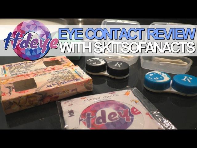TTDEye Eye Contacts | SkitsoFanActs Review