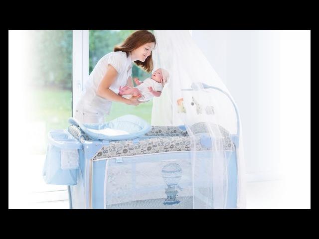 Детская кровать манеж Nuovita Fortezza ВИДЕОИНСТРУКЦИЯ