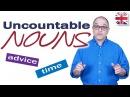 Uncountable Nouns English Grammar Lesson