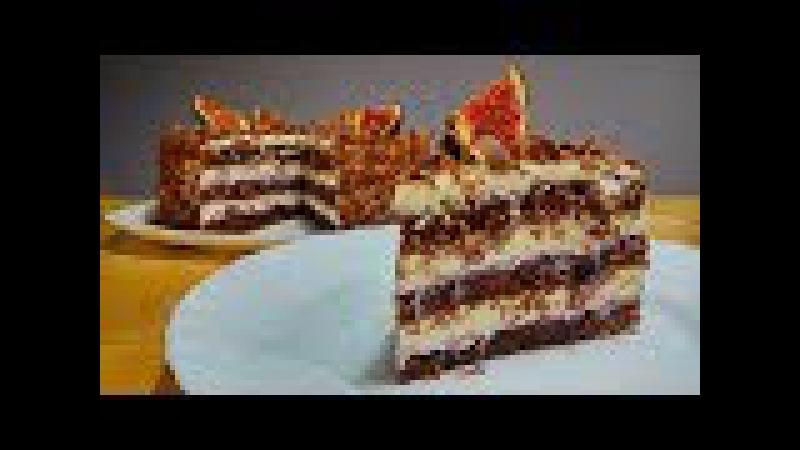 Торт Искушение и Новый Рецепт Шоколадного Бисквита » Freewka.com - Смотреть онлайн в хорощем качестве