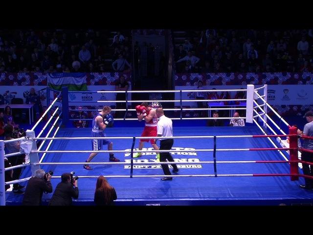 Мадримов Исраил (Узбекистан) vs Иванченко Игорь (Россия) 75кг