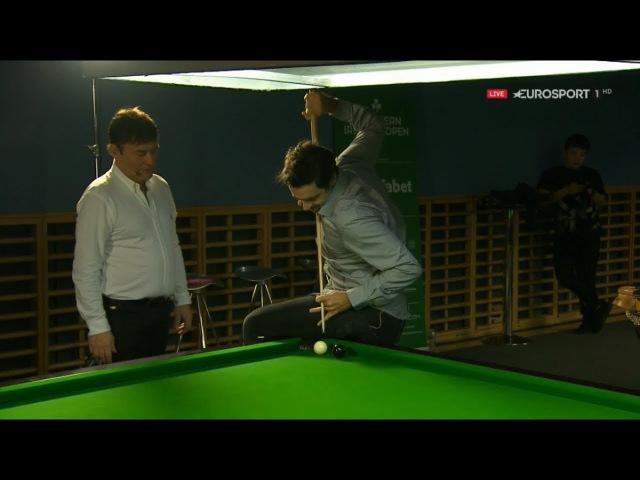 Yan Bingtao 颜丙涛 v Lyu Haotian 吕昊天 SF Northern Ireland Open 2017 Midsession