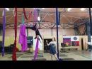 Aerial silk воздушные полотна
