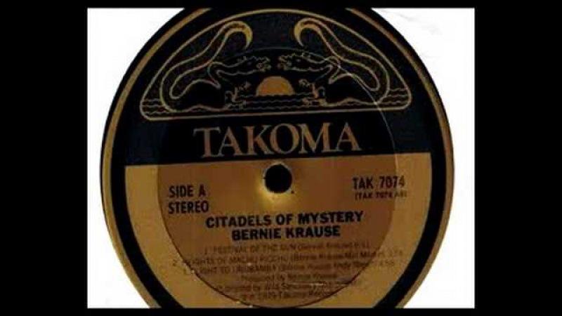 Bernie Krause Andy Nerell - Flight To Urubamba - TAK 7074