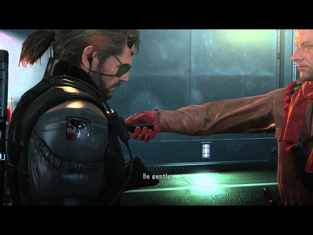 We don't Draw Weapons on Comrades (MGSV Cutscene)